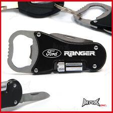 FORD RANGER Lasered Logo Keyring / Pocket Knife / LED Torch / Bottle Opener