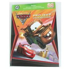 Leapfrog Leapreader Cars 2 TAG Book Project Undercover Mater