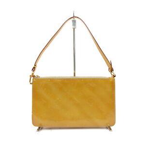 Louis Vuitton LV Accessories Pouch Bag M91058 Lexington Yellows Vernis 1419413