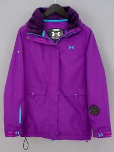 Women Under Armour Jacket Skiing Snowboarding Breathable Waterproof S ZOA339