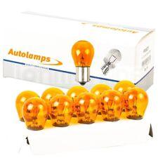 10 x 382 Amber 343 Car Indicator Light Bulbs 12V 21W Bayonet BAY15s