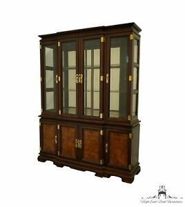 """UNIVERSAL FURNITURE Asian Oriental Style 64"""" Lighted Display China Cabinet 82..."""