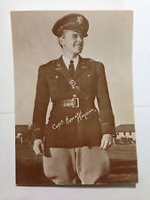 Captain Ronald Reagan RPPC c 1945  unused Rare postcard NPC-1188 M.C. Robelet
