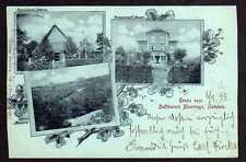 77321 AK Moorrege Holstein Pension Harm Hoppe Schloss Düneck 1899