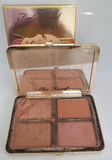 TOO FACED Sugar Peach Wet and Dry Face & Eye Palette DAMAGED