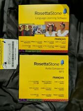 Rosetta Stone V4.5 French Level 1-5 Set for PC or Mac Francais