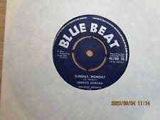 DERRICK MORGAN=SUNDAY,MONDAY (BLUE BEAT)  EX-