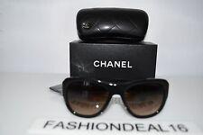 Chanel Women's Authentic Black Beige Square 5310 C.943/S5 55-19-140 Sunglasses