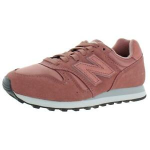 New Balance Women's WL373 Suede Casual Athletic Sneaker Shoe Pink Size 6