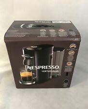 Nespresso Vertuo Plus Capsule Pod Black Coffee Machine New RRP £200