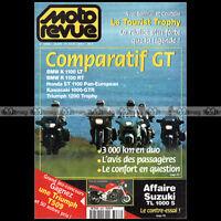 MOTO REVUE 3286 TRIUMPH 1200 TROPHY HONDA ST BMW K 1100RT  TOURIST TROPHY 1997
