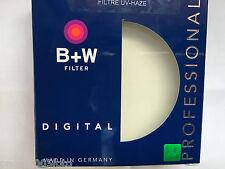 B+W UV-HAZE FILTER 82MM, F-PRO 010 - 70167 NERO BLACK NUOVO NEW MADE IN GERMANY!