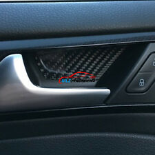 Carbon Fiber Interior Door Handle Bowl Cover Trim For VW Golf 7 MK7 GTI 14- 2017