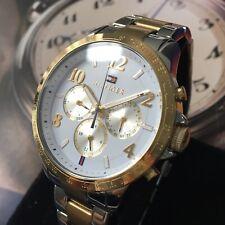 Ladies Tommy Hilfiger Designer Watch HUDSON 1791226 Gold Steel Genuine