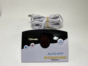 Biddeford TC12B0-D Electric Heating Blanket Controller 4 Prong Auto Off