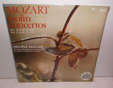 WL1142 Mozart Concertos pour violon Nos 4 & 5 Michele AUCLAIR Neuf Scellé