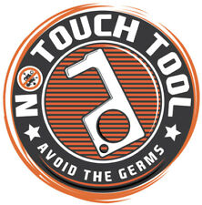 No Touch Tool - Avoid the Germs - Button Pusher Door Opener - Color Black