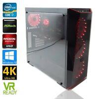 Gamer PC Intel Core i7 max. 4.00GHz Radeon RX 580 OC+ 32GB RAM 512GB SSD 1TB HDD
