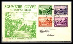 GP GOLDPATH: NORFOLK ISLAND COVER 1952 _CV699_P24