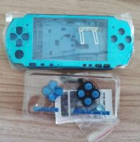 Blue Housing Shell Case Cover For PSP3000 PSP 3000 Console Replacement Repair