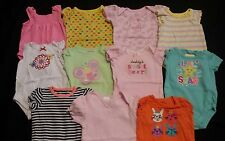 Baby Girl Size 0-3 Months Spring & Summer Clothing Lot *Rompers*