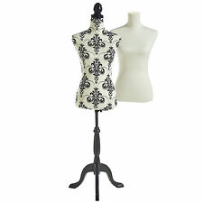 Beautify Female Tailor Dressmaker Dummy Fashion Mannequin Bust UK Size 8/10
