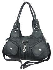 Lulu Ladies Handbag Soft Shoulder Bag Fan Carrying Strap Zipper AK110311-1