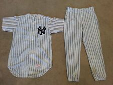 New York Yankees Mike Witt 91 & 92 game worn jersey and pants Steiner Loa