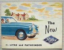 RILEY 1 ½ LITRE & PATHFINDER Car Sales Brochure 1954 #H&E 53138