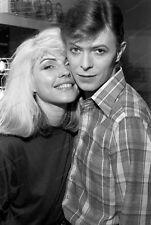 8x10 Print David Bowie Debra Harry Blondie #DB77