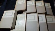 Parenti Rarità Bibliografiche dell'ottocento. 8 volumi con custodia 1953 1964