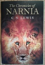 """The Chronicles of Narnia"" by C.S. Lewis, complete seven volume paperback book"
