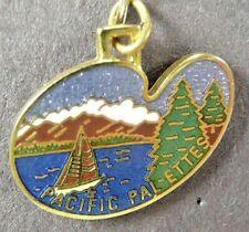 Pacific Pal-Ettes Decorative Arts Collection Commemorative Charm Red Blue Grn Go