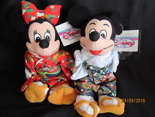 DISNEY STORE MICKEY AND MINNIE MOUSE - JAPANESE COSTUMES