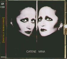 "MINA "" CATENE VOL.1/2 "" DOPPIO CD SIGILLATO REMASTERED PDU-EMI 2001"