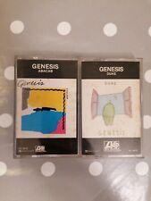 GENESIS - Duke + Abacab Cassette Tapes Album Atlantic Phil Collins 1980 1981
