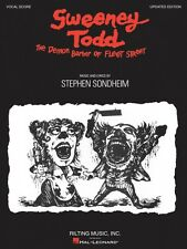 Sweeney Todd Vocal Score Book NEW 000313450
