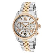 Women's Watch Michael Kors MK5735 'Lexington' Dress Watches Quartz Tri-Tone