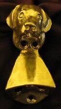 LABRADOR RETRIEVER Wall Mounted Bottle Opener in Bronze