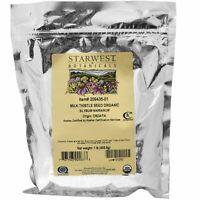 Starwest Botanicals Milk Thistle Seed Whole Organic 1 lb 453 6 g Kosher, Organic