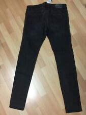 NWD Mens Diesel SLEENKER Stretch Denim RA468 Black Slim W32 L32 H6 RRP£160