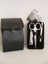 men's manicure travel set with case