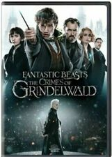FANTASTIC BEASTS THE CRIMES OF GRINDELWALD DVD MOVIE NEW SEALED JK ROWLING