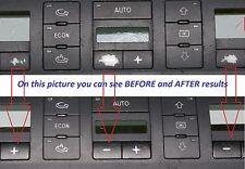 Audi A6 4B 01 - 05 CLIMATE A/C AC CONTROL peeling worn buttons button repair