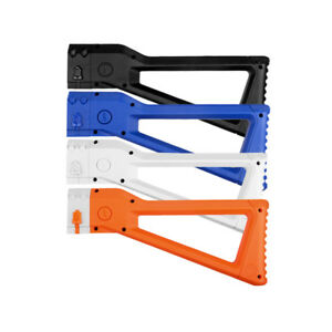 Worker Mod Fixed Shoulder Stock Replacement 5 Color for Nerf Retaliator Toy
