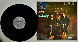 Vinyl LP 1. Album von Peter Paul & Mary Warner Bros. W1449 1962 Folk at its best
