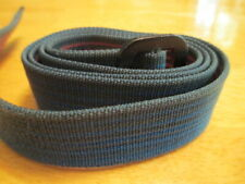 Patagonia Friction Belt Blue Teal Orange Horizontal stripes 41 Inches Canvas GUC