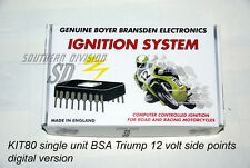 BSA single elektr. Zündung Boyer ignition B25 B44 B50 12V mit kennlinie KIT00080