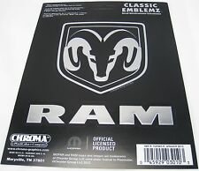 2 DODGE RAM DECALS AUTO TRUCK CAR ACCESSORIES STICKER D0057