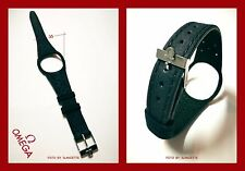 """OMEGA - DARK BLUE WATCH STRAP FOR """"OMEGA DYNAMIC"""" WITH S/S BUCKLE"""